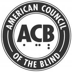 image of american council of the blind logo