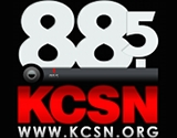 image of kcsn radio logo